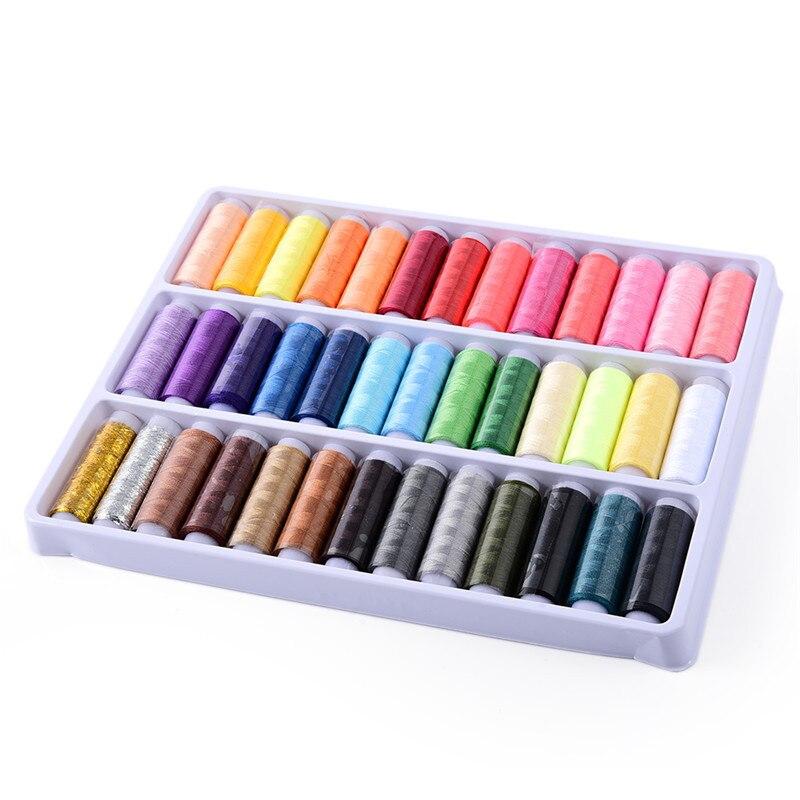 39 Farben 402 Hohe Qualität Nähgarn Handwerk Thema Farbe Einstellung Nähgarn