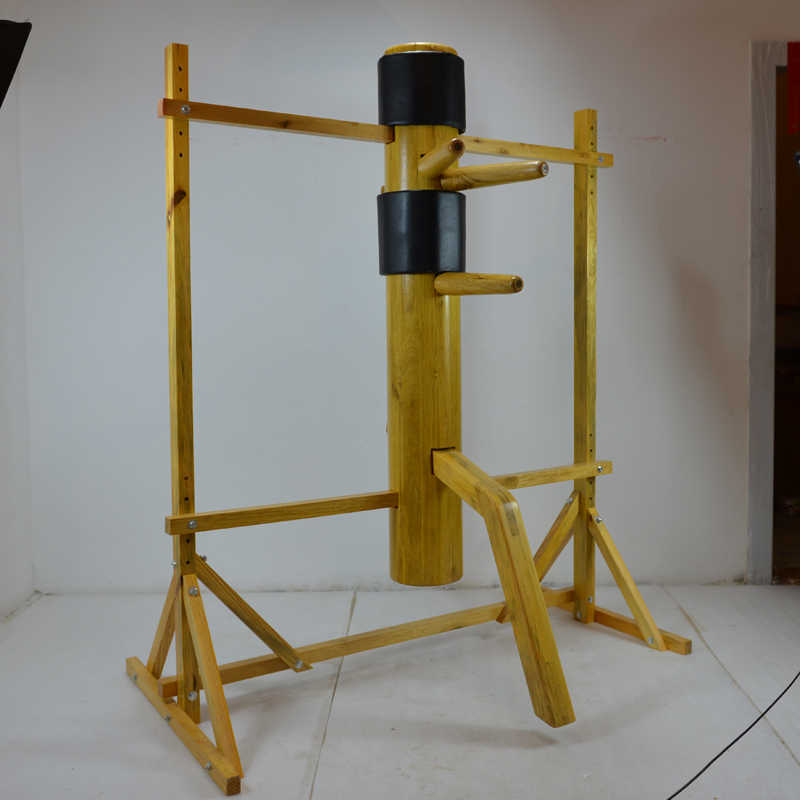 New Style Adjustable Solid Wood Wooden Training Dummy Wing Chun Martial Art