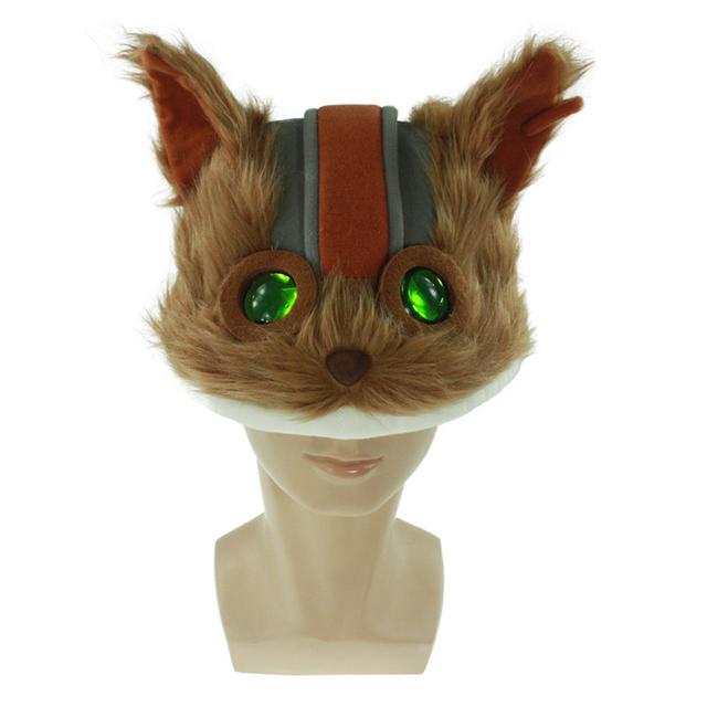 LOL Charms NUEVO Estilo Traje Giggs voladura devil personalizada de Algodón de Felpa Cosplay SOMBRERO Tapa para Gamer Chirstmas Regalo de Halloween