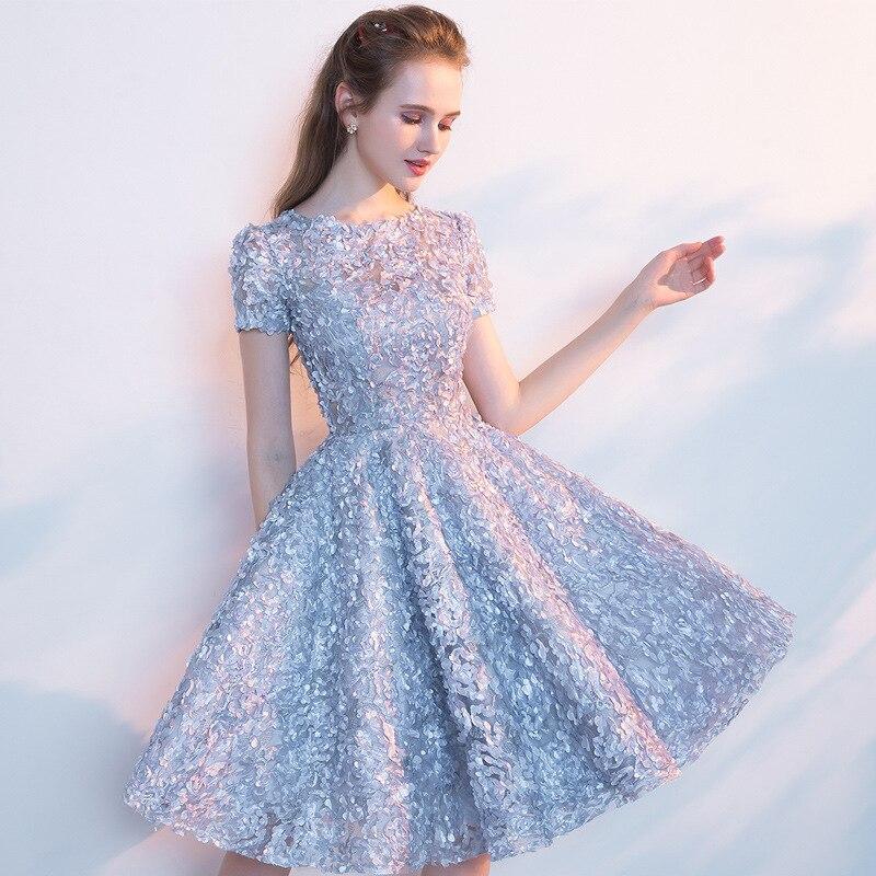 Elegant Dress Women Vintage Floral Short Party Night Club Dresses Sexy Pink Ball Grown Dress Plus Size vestidos robe femme