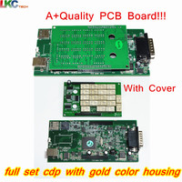 10pcs Lot DHL Free Gold CDP With Bluetooth TCS CDP PRO Auto OBD2 Diagnostic Tool NEW