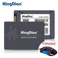 KingDian SSD 240กิกะไบต์S280 3ปีรับประกันSATA3 2.5นิ้วฮาร์ดดิสก์ไดรฟ์240กิกะไบต์HD HDDโรงงานโดยตรงสำหรับคอมพิว