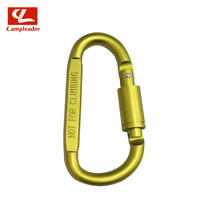 BRASS NUT KEYRING FOR CLIMBERS NOT FOR CLIMBING