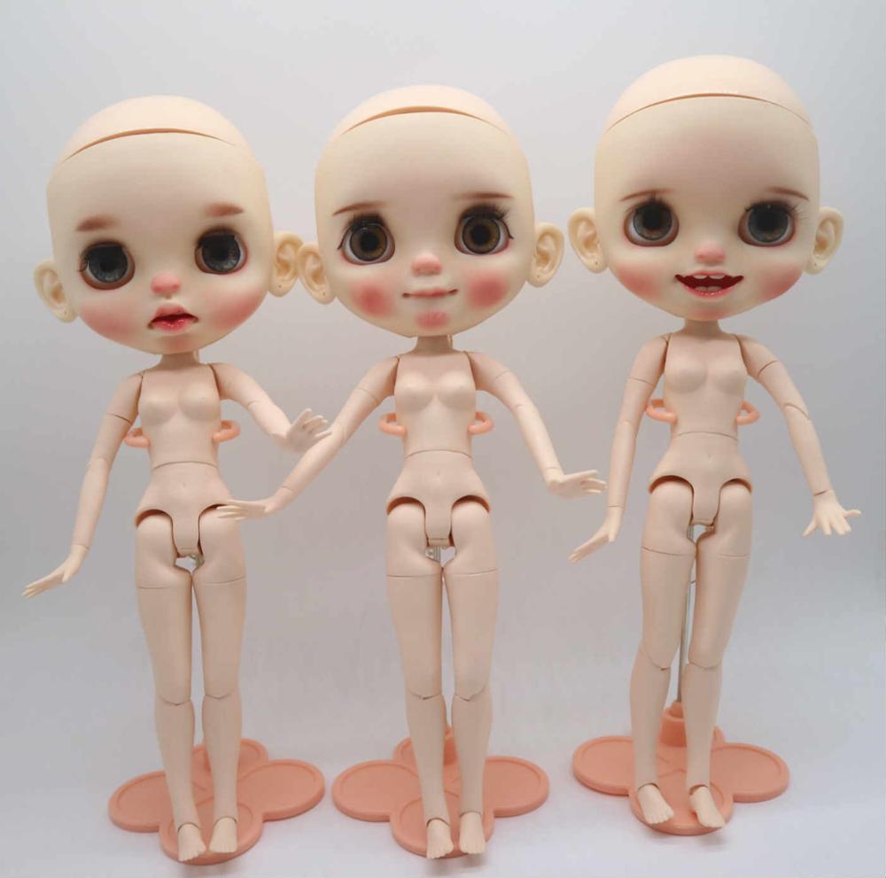 맞춤형 얼굴 조인트 바디 브라이스 인형으로 맨 손으로 머리 인형-에서인형부터 완구 & 취미 의  그룹 1