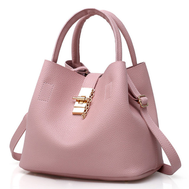 9b96b9e12 Luxury Women Bags Famous Brand Designer Girls Shoulder Quality Leather Lady  Leather Handbags Vintage Chains Summer