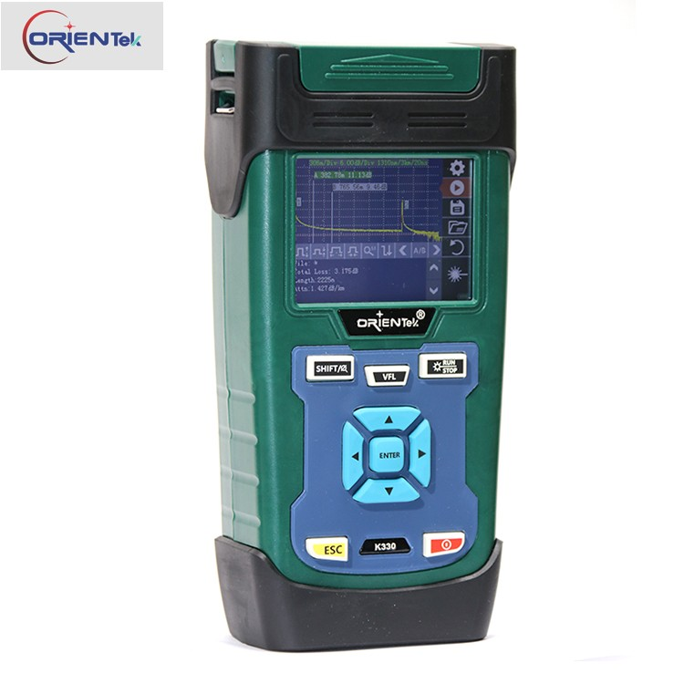 Fibre Optic OTDR FTTX Orientek K330 SM Optical time domain reflectometer 1310/1550nm Built in VFL OTDR price