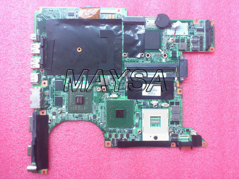 laptop motherboard 434660-001 fit for HP Pavilion DV9000 DV9500 DV97000 Series Notebook PC system board, Tested for hp for pavilion dv9000 series motherboard da0at2mb8h0 integrated graphics 100% work ok