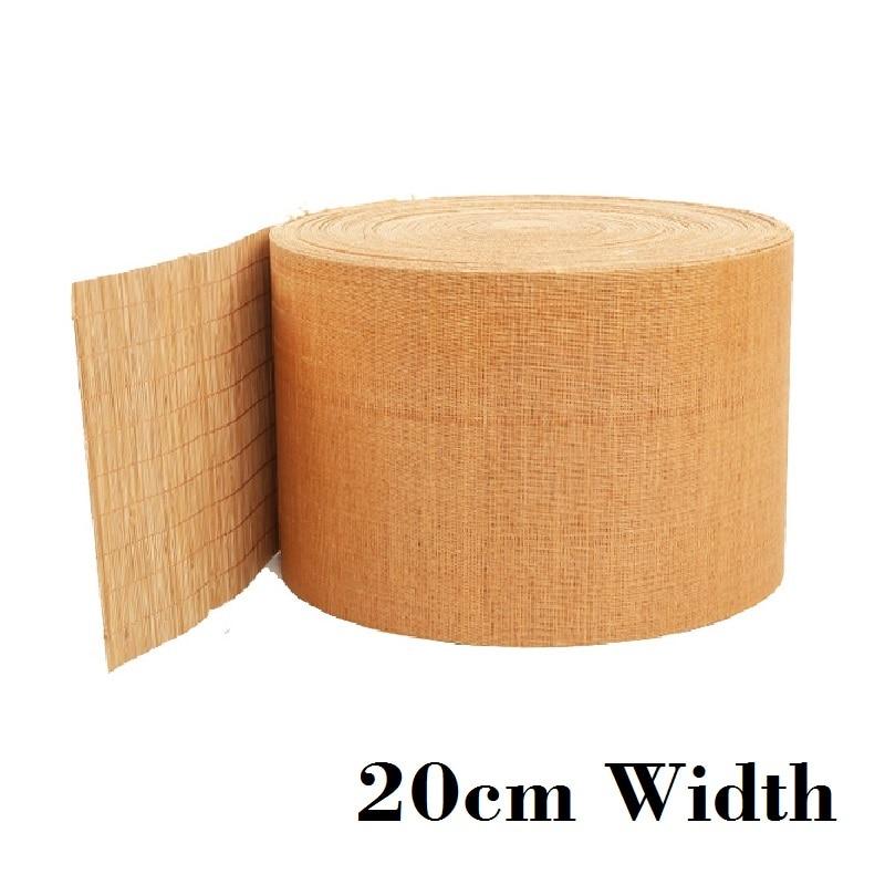 20cm Width Bamboo Pad Table Dinnig Mat Tea Coaster Heat Insulation Non Slip Placemats Tea Accessories Custom Made Length in Mats Pads from Home Garden