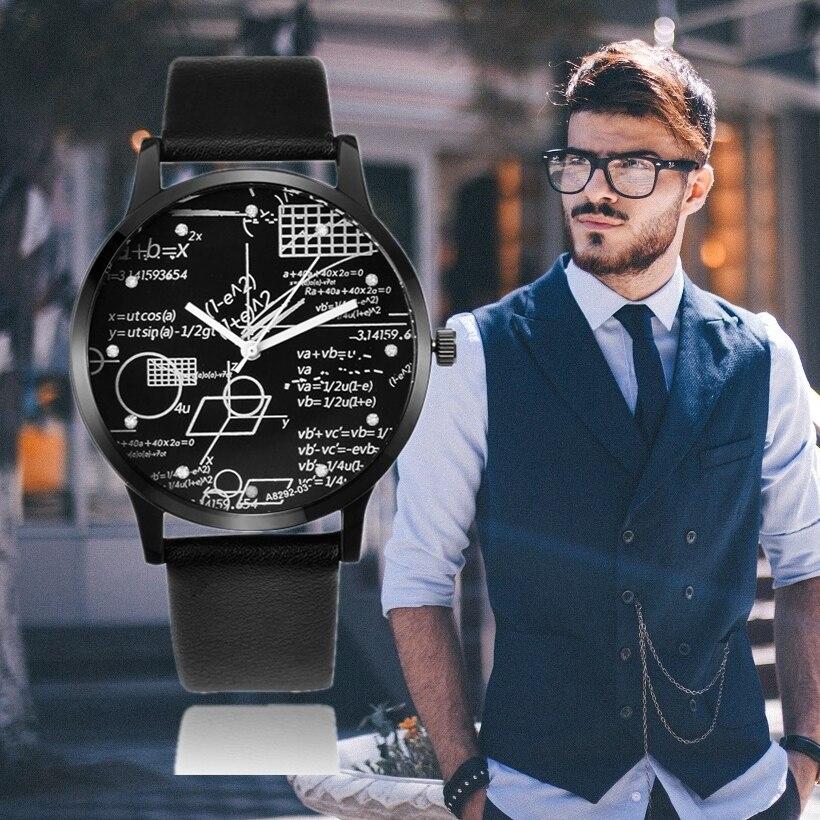 Saatler'ten Kuvars Saatler'de Erkekler saatler moda deri erkek kol saati spor Saat erkekler için erkek Saat Relogio Masculino Montre Homme reloj hombre 2020 Saat title=