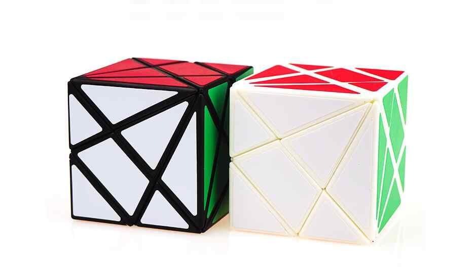 Волшебный куб YongJun YJ Axis, сменный необычный скоростной куб Jinggang с матовой наклейкой YJ 3x3x3