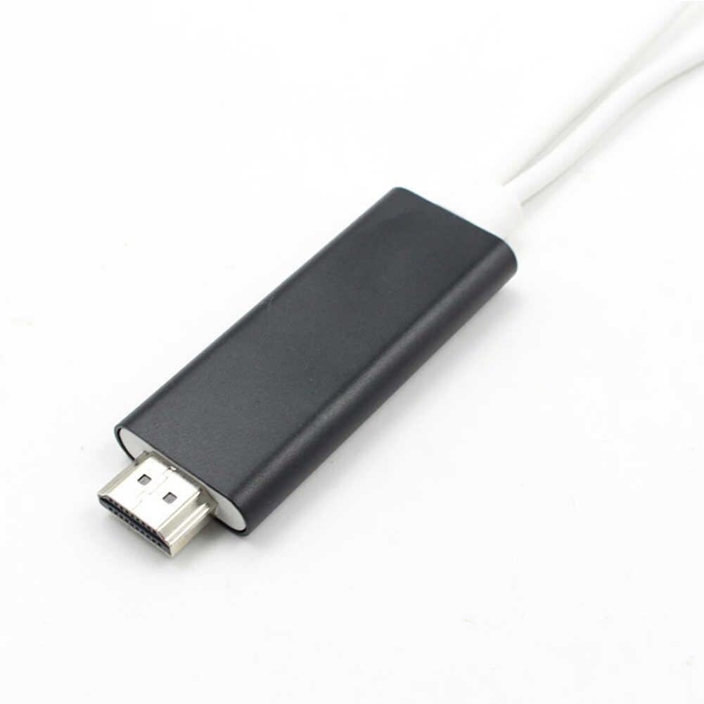 8 פינים טלפון לטלוויזיה AV מתאם כבל לרכב עבור 7/7 s/6/6 S/ בתוספת/עבור אפל/HDTV מחבר HDMI תיקון