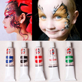 5 Colors Face Paint Body Painting Color Oil Painting Art Flash Tattoo maquiagem Party Fancy Dress Makeup akvagrim Halloween 23ml