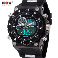 Top Luxury Brand Mens Sports Watches LED Digital Military Watch Men Big Size Fashion Casual Electronics