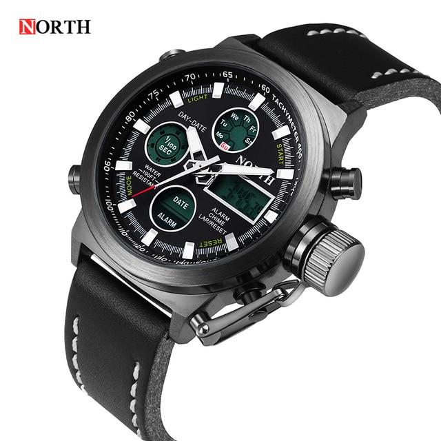 8676debee1b relogio masculino esportivo homens relógio masculino de luxo militar digital  relógio de quartzo mens relógios top