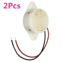 2Pcs 95DB Alarm High-decibel 3-24V 12V Electronic Buzzer Beep Alarm Intermittent Continuous Beep for Arduino SFM-27