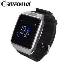 Cawono G12 Bluetooth reloj inteligente Smart Watch Anti-lost SIM TF Card with Camera Smartwatch for IOS Android VS DZ09 A1 GT08