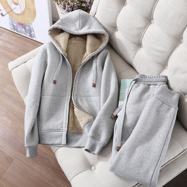 Autumn Winter  Two Hoodies Jacket 2