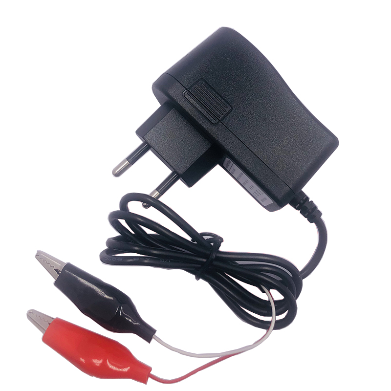 Output 14.6V 1A Lifepo4 Battery Pack Charger With EU Plug Clips Charge DC Joint Adapter Input 100-240V