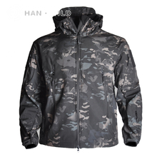 TAD  Army Camouflage Men Jacket Coat Military Tactical Jacket Winter Army Waterproof Soft Shell Jackets Windbreaker Hunt Clothes soft shell tad military tactical jacket waterproof windproof outdoors sports army camouflage fleece hunting jacket