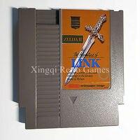 닌텐도 NES 게임 전설 젤다 2 Advanture 링크 비디오 게임 카트리지 콘솔 카드 미국/EU 유니버설 영어 버전