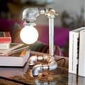 Novelty Metal Vintage Pipe Table Lamp,Lndustrial Loft Style Desk Lamps For Bedroom Study Room,Abajur Lamparas De Mesa