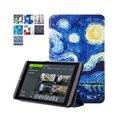 Живопись PU кожаный чехол защитный чехол shell крышка случая кожи для nvidia shield 2 tablet 8.0/для Nvidia shield K1 tablet