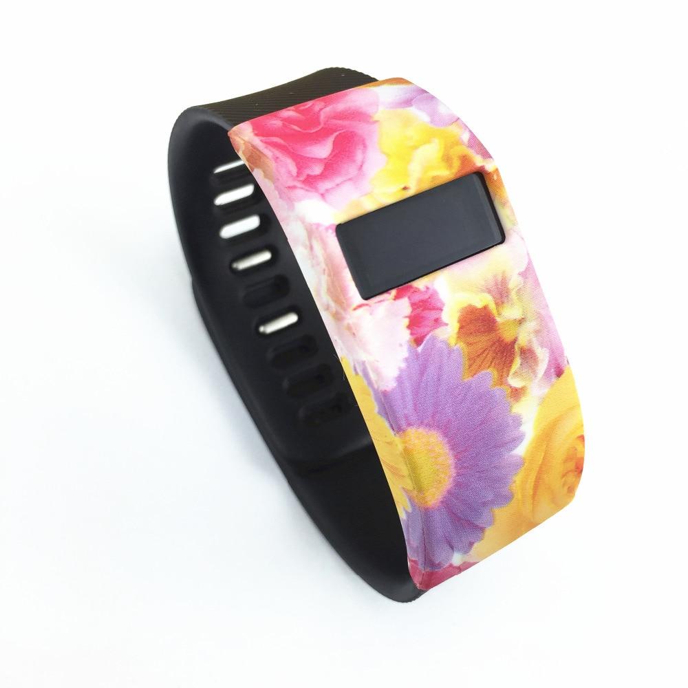 2PCS սիլիկոնային ժապավենի ապարանջանի կափարիչ Fitbit- ի լիցքավորման / Fitbit լիցքավորման համար HR Smart Watch Slim Designer Sleeve Protector պարագաների համար