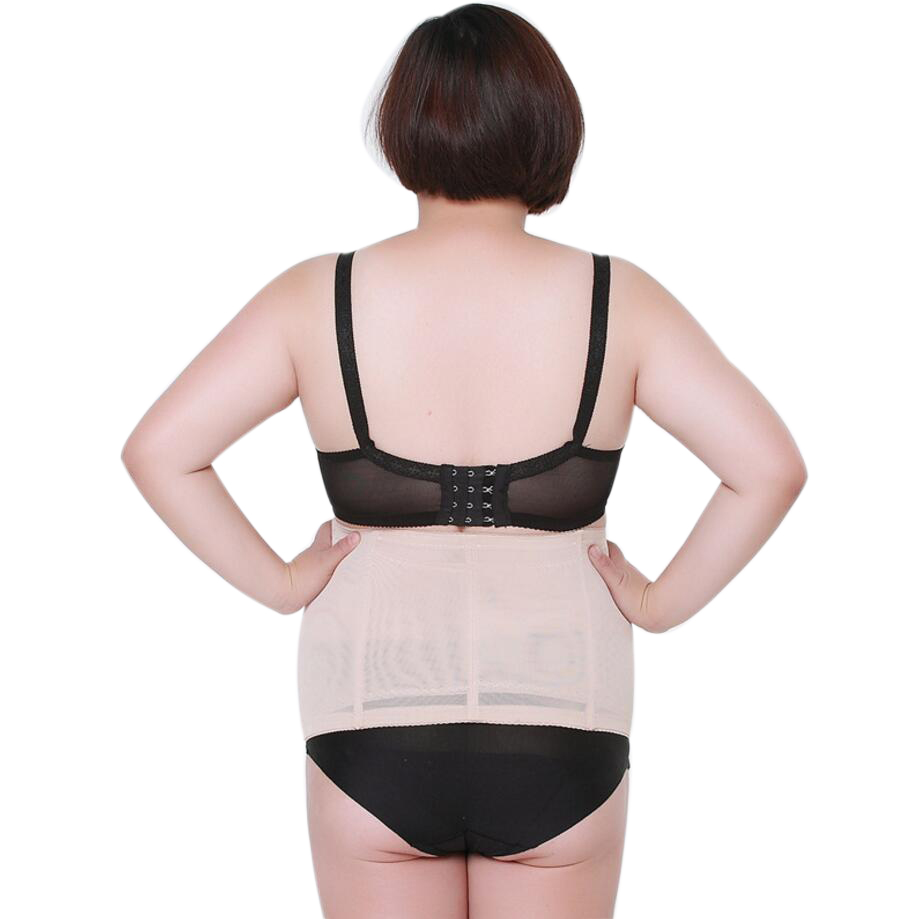 Large Plus Size belly slimming band Waist Corset Belt Slimming Shapewear body girdles For women corrective underwear lingerie 3
