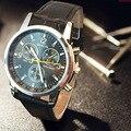 Geneva Watch Men Watch Fashion Leather Strap Men's Watches Sport Watches Clock erkek kol saati relogio masculino montre homme