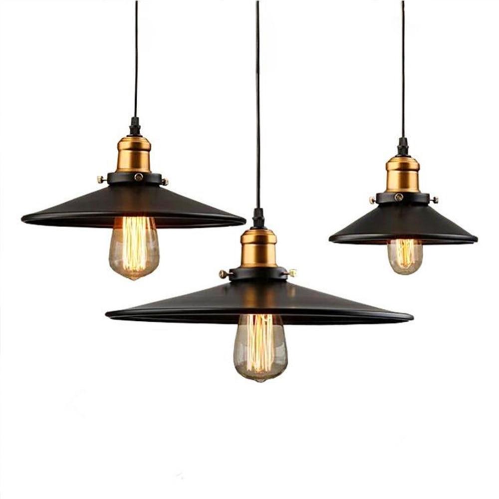 E27 Edison Bulb Light Fixture Nordic Vintage Pendant Lamp Luminarias Indoor Lighting Retro Pendant Lamps Light For Restaurants