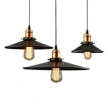 E27 Edison birne Leuchte Nordic Vintage Anhänger Lampe Luminarias Innen Beleuchtung Retro Anhänger Lampen Licht für Restaurants