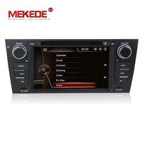 Groothandelsprijs! 7 inch Lcd touch Screen Auto dvd-speler voor E90 E91 E92 E93 met Gps Navi, 3G, Wifi, Bluetooth, Ipod
