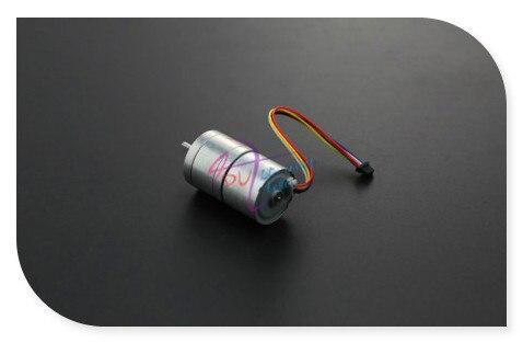 DFRobot Бесщеточный Двигатель ПОСТОЯННОГО ТОКА, 12 В 2.4 кг 159 ОБ./МИН. встроенный драйвер с Датчика совместим с arduino для мобильного робота платформа
