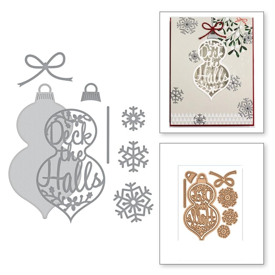 Santas Workshop Joy Brick Metal Cutting Dies Stencils For DIY Scrapbooking Christmas Decoration Embossing Supplier Craft Die Cut