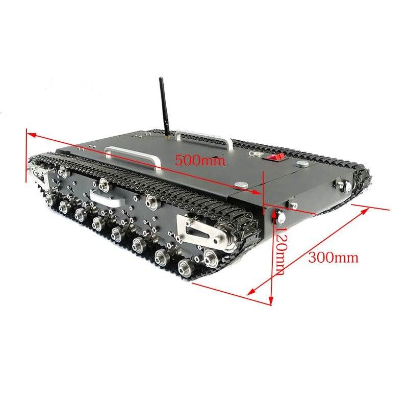 2018 30 kg di Carico WT-500S Smart RC Robotic Seguito Dal Carro Armato RC Robot Auto Telaio di Base