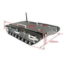 2018 30Kg Load WT-500S Smart RC Robotic Tracked Tank RC Robot Car Base Chassis(China)