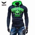 2016 Hoodies Men Sudaderas Hombre Hip Hop Mens Brand Leisure Jacket Hedging Hoodie Sweatshirt Suit Slim Fit Men Hoody XXL  WLYS