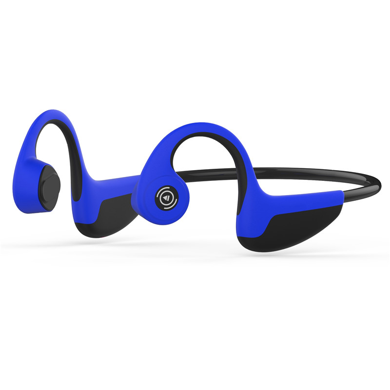 Wear Bone Conduction Headphones Wireless Bluetooth 5.0 Earphone Outdoor Sports Headset Stereo Hands-free mix8 open ear bone conduction bluetooth v4 1 headset outdoor sports wireless bluetooth headset head mounted headphones