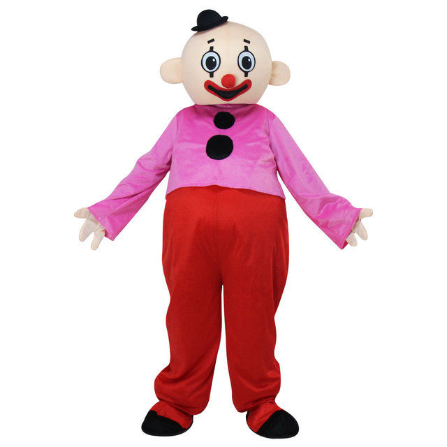 c0bdc61ecff809 Volwassen Karakter Bumba brothers mascot kostuum Pipo clown mascot Kostuum  Fancy Dress Outfit EPE