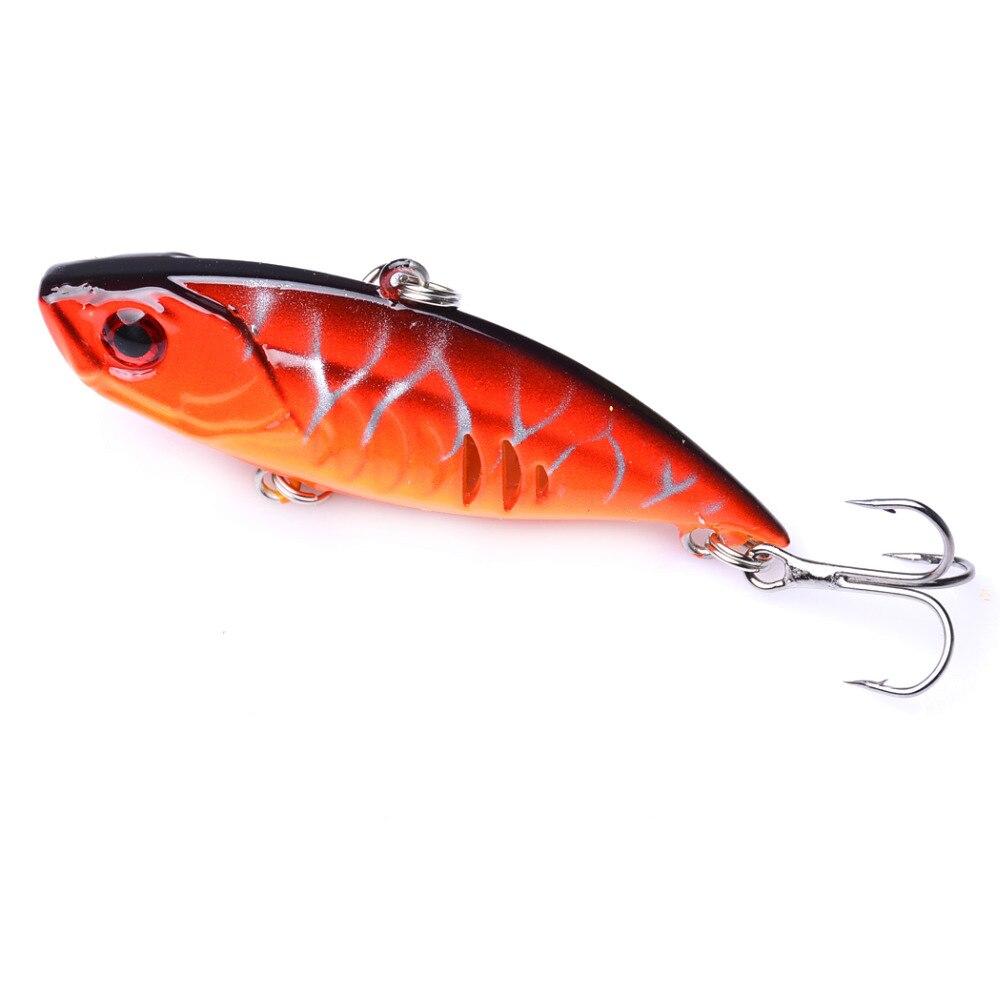 1PCS 6.5cm 10.8g Sinking Vibration Fishing Lure isca artificial Vib Crankbait Wobblers Carp Accessories