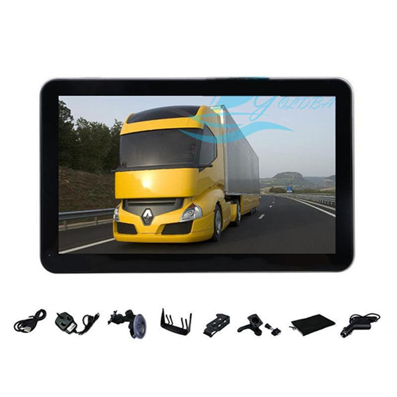 Professional 7-inch 8GB Truck Car GPS Navigation Sat Nav with EU-Plug Power Adapter Vehicle Parts Accessories встраиваемый счетчик моточасов orbis conta emp ob180800