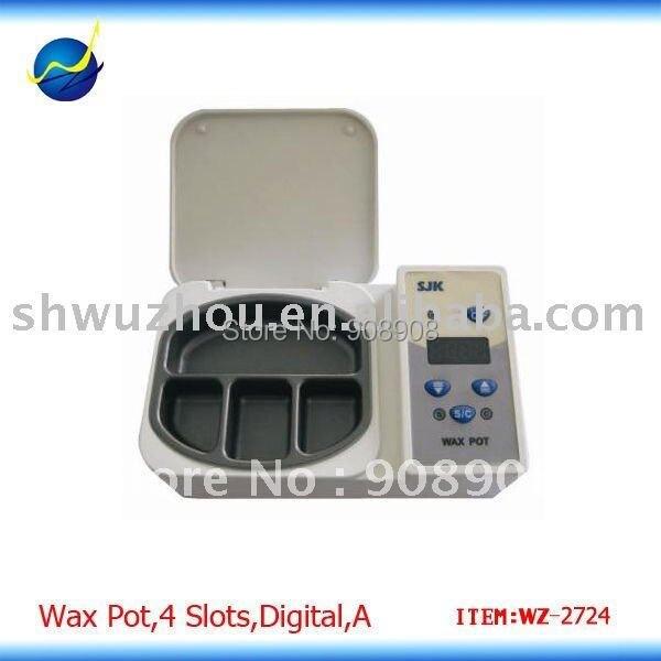 Digital Analog Wax Pot Heater 4 Pot for Dental Lab Equipment