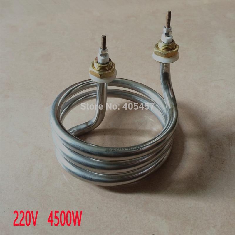 distillating machine  electrical heat tube,4500W liquid heating elements,heater pipe 10mm