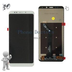 Image 3 - Pantalla LCD completa de 5,99 pulgadas para Xiaomi Redmi 5 Plus montaje de digitalizador con pantalla táctil y cubierta de marco para Redmi 5 Plus MEG7