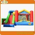 Отказов house_super отказов дом 9 в 1 с happy hop, Смешно дом для детей с баскетбол, надувные игрушки прыжки