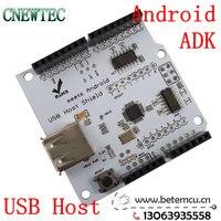 бесплатная доставка USB-хост щит как-нибудь с гугл андроида adk поддержка оон мега