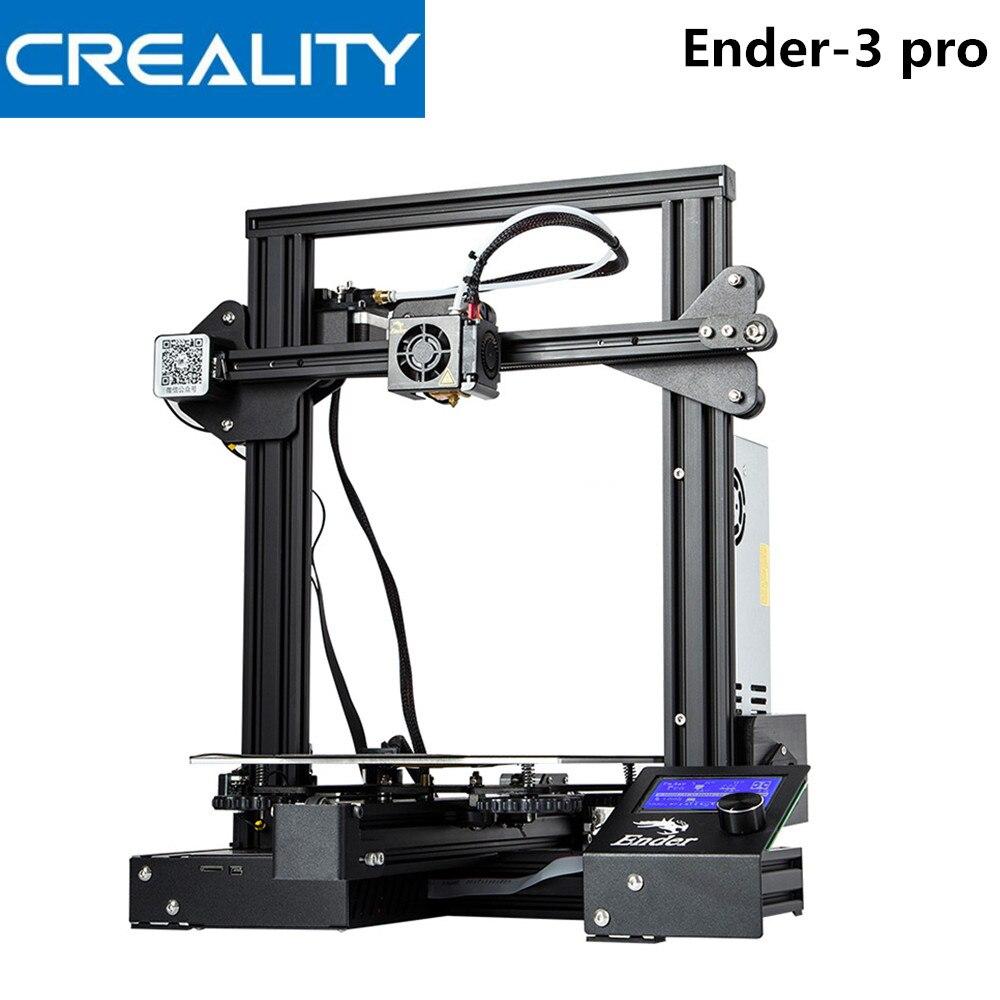 Creality 3D Ender-3 PRO 3D Imprimante Amélioré Cmagnet Plaque de Construction Cv Panne De Courant Impression kit de bricolage MeanWell Puissance Imprimantes