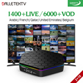 T95Z Plus IPTV France Arabic Box Andorid 7.1 2GB RAM 16GB ROM S912 Octa Core WiFi 4K TV Receiver IPTV France Arabic Belgium IPTV