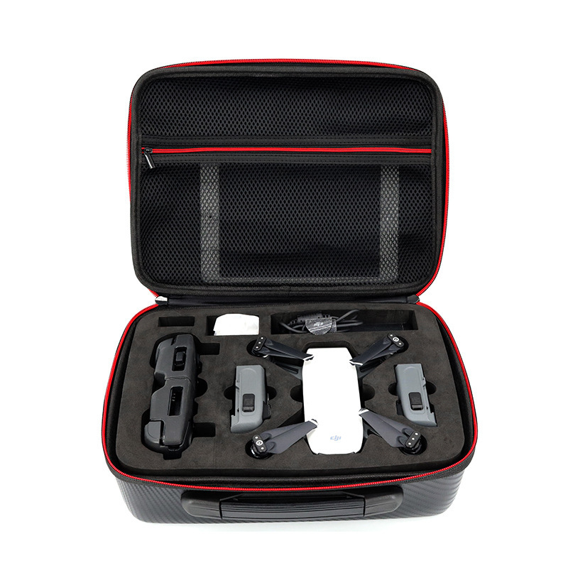 Waterproof Spark Bag Box Case Accessories for DJI Spark Drone Storage Bag Carry Case safety transport travel hardshell drone case for dji goggles vr glasses mavic pro bag for dji spark box storage accessories