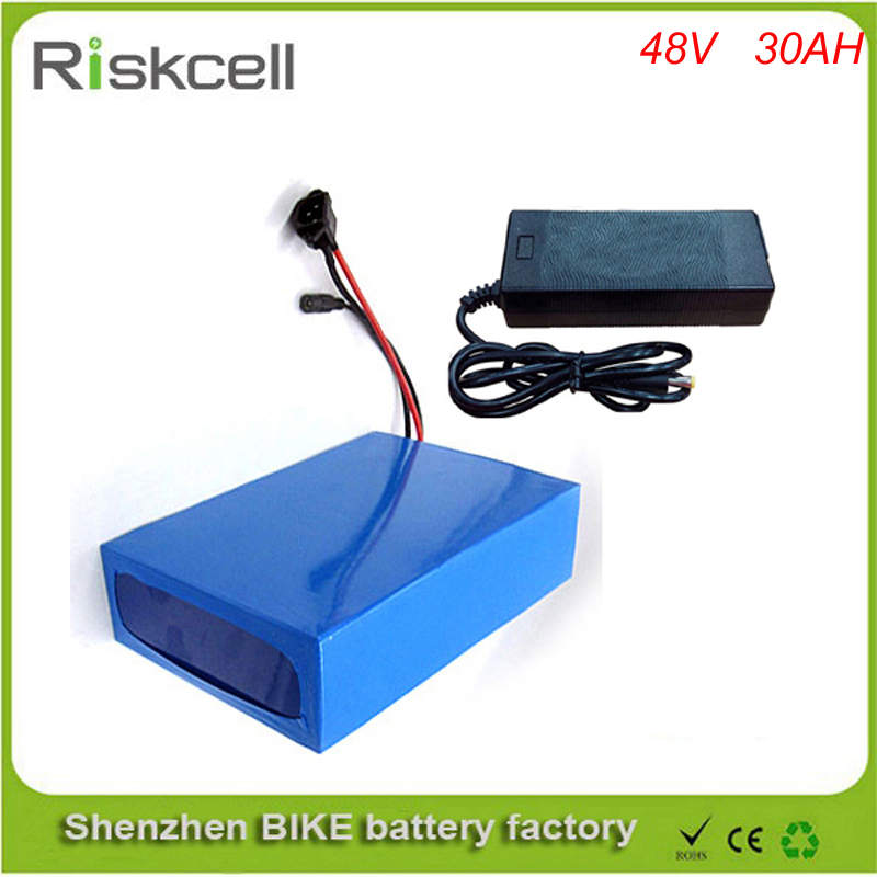 ebike lithium battery 48v 30ah lithium ion bicycle 48v 1000w electric scooter battery for kit electric bike with BMS , Charger 48v 34ah triangle lithium battery 48v ebike battery 48v 1000w li ion battery pack for electric bicycle for lg 18650 cell